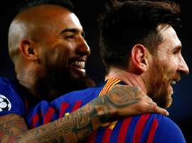 Valverde confident with Vidal against Liverpool without Firmino. EFE