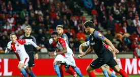 El Sevilla cayó en Europa League tras pasar 18 eliminatorias seguidas. EFE