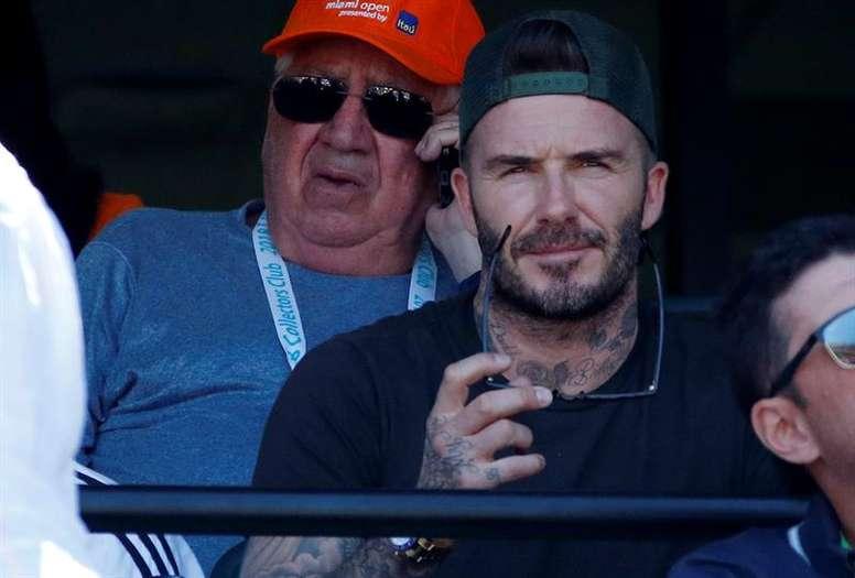 Beckham sigue adelante con su proyecto. EFE/Archivo