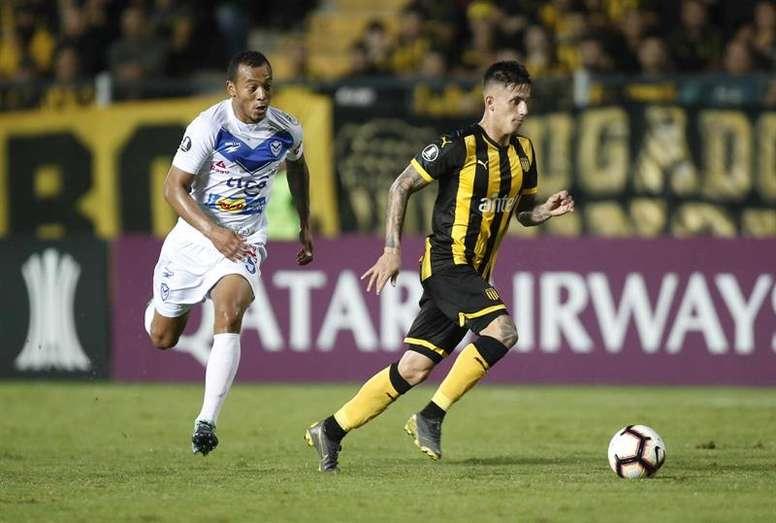 Peñarol ganó 4-0 a San José. EFE