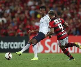 'Gabigol' volvió a resultar decisivo para Flamengo. EFE