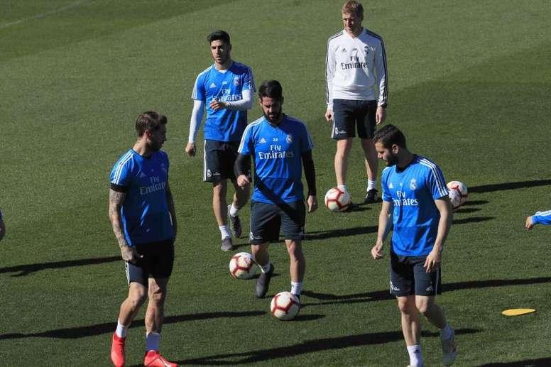 Zidane recuperó a Bale. EFE