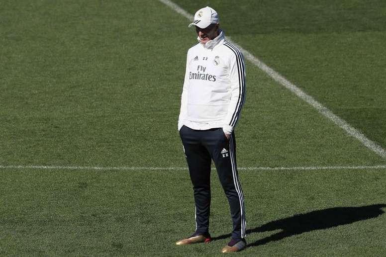 Para Rubén Gonzáléz, o regresso de Zidane foi o melhor que aconteceu ao Real. EFE