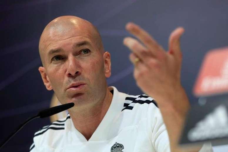 Zidane invite à l'optimisme. EFE