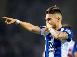 Telles is annoyed with Porto. EFE