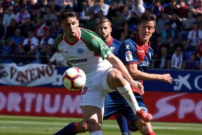 El Alavés ganó 1-3. EFE