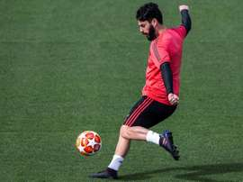 Isco was back in training for Real Madrid. EFE/Archivo