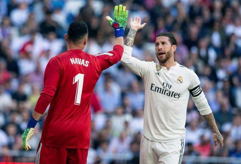 La última petición de Keylor Navas al Madrid. EFE