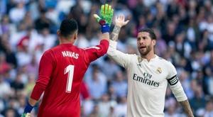Le Real Madrid a gagné avec la possession. EFE