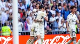 Bale y Ramos, con sorprendentes registros físicos. EFE