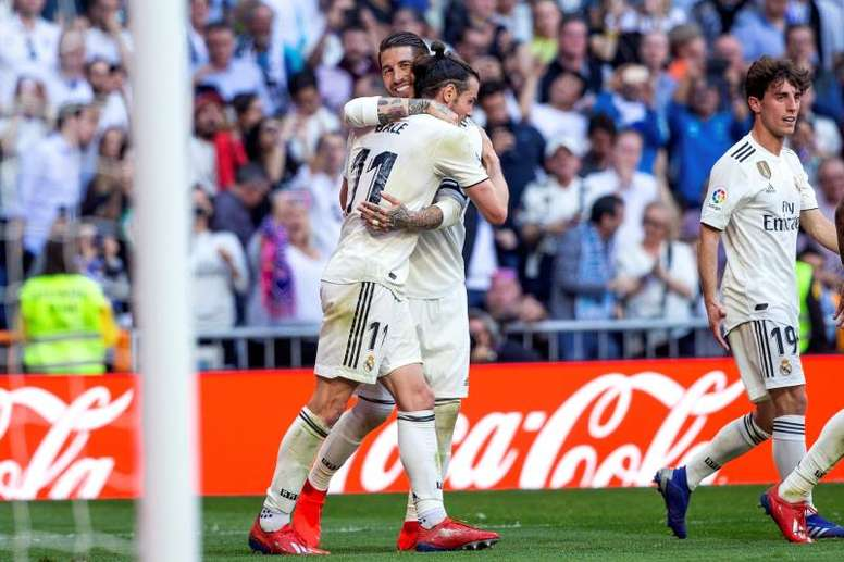Ramos pidió respeto para Gareth Bale. EFE