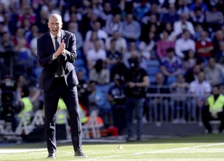 Zidane volvió con un triunfo bajo el brazo. EFE