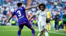 Marcelo y Mendy trabajan durante el parón para convencer a Zidane. EFE