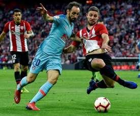 L'Atlético souhaite que Yeray soit son nouveau Godín. EFE