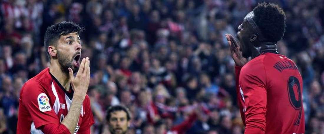 Il a inscrit le 250ème but du San Mamés. EFE