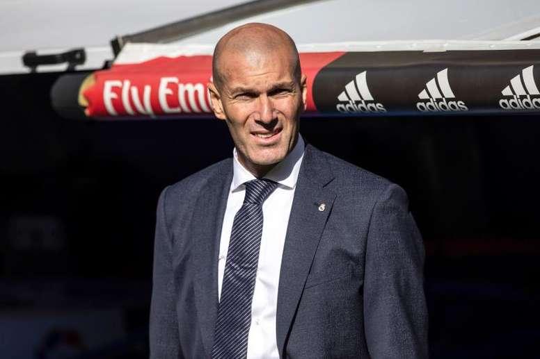 Zidane volvió y ganó. EFE