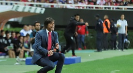 Almeyda, cerca de volver al fútbol mexicano. EFE