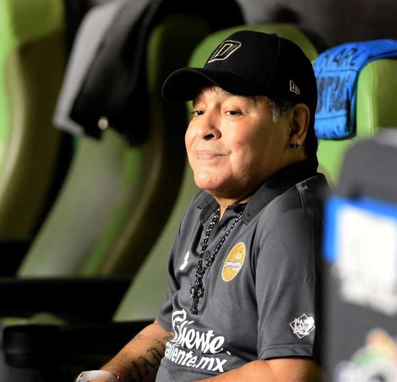 Maradona falleció con solo 60 años. EFE