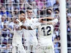 Just 12 goals between five forwards. EFE