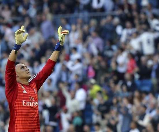 Le portier du Betis trouverai injuste que Navas quitte le Bernabéu. EFE