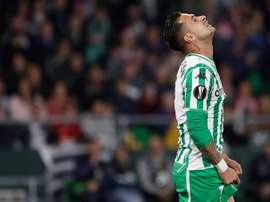Levante lorgne Sergio León pour la saison prochaine. EFE