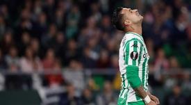 Sergio León ne pourra pas dire au revoir à ses supporters. EFE
