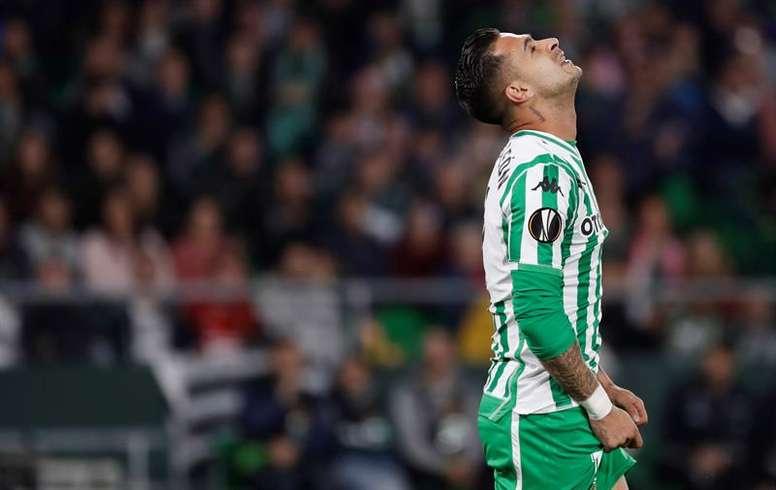 Sergio León será 'granota' las próximas tres temporadas. EFE/Archivo