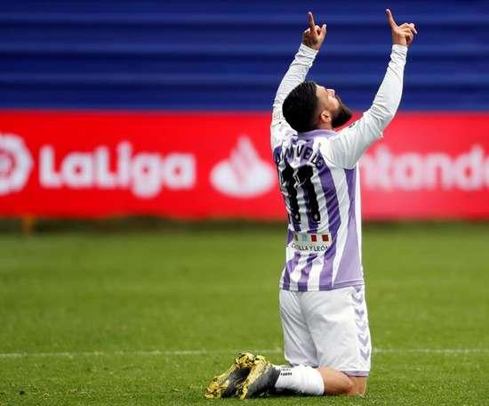 Verde started Valladolid's comeback. EFE
