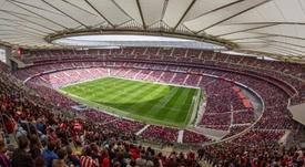 Casi 61.000 espectadores abarrotaron el Metropolitano. EFE
