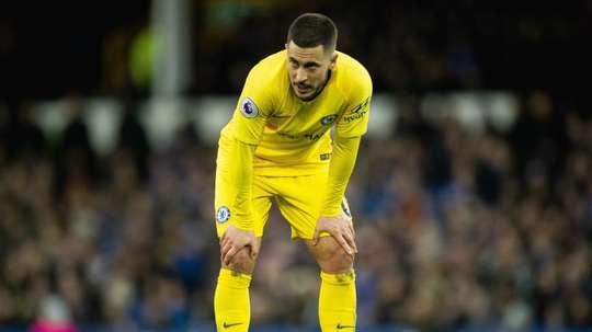 Hazard still doesn't know where he will be next season. EFE/EPA