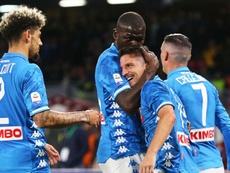 El Nápoles se impuso al Udinese por 4-2. EFE