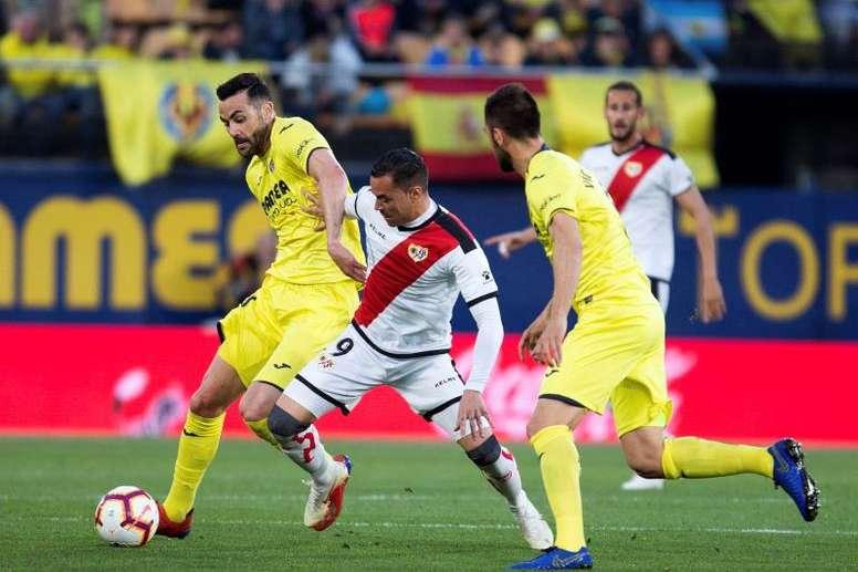 El Villarreal remontó al Rayo. EFE