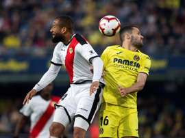 El Rayo y el Villarreal se verán las caras. EFE