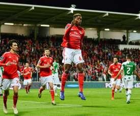 El Benfica no puso facilidades a su rival. EFE