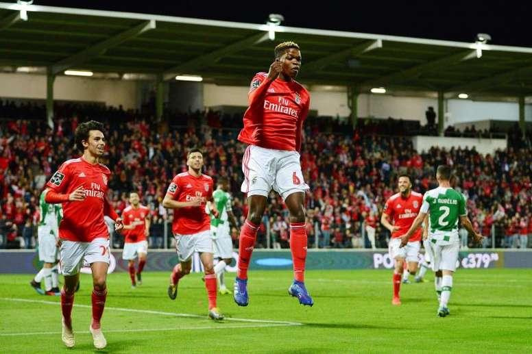 El Milan se lanza a por la nueva sensación del Benfica. EFE