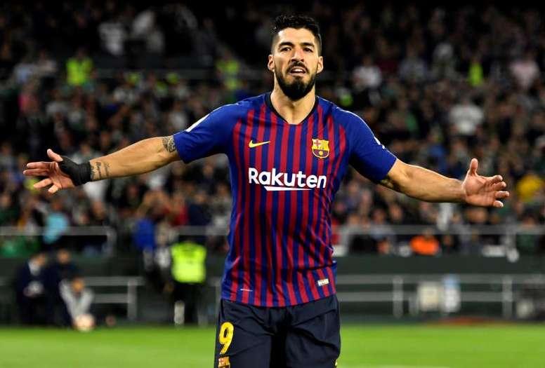 Luis Suárez: un año más viejo, igual de irreemplazable. EFE