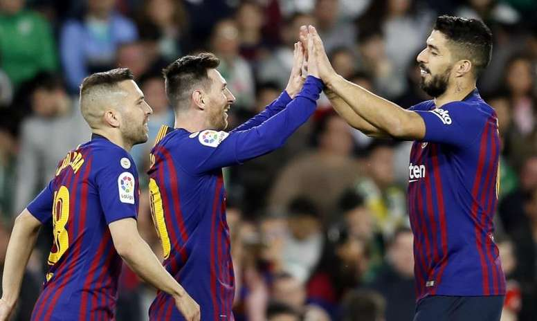 Giocatori del Barça hanno offerto un contributo economico per Neymar. EFE