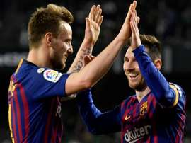 Rakitic could be on his way to PSG. EFE
