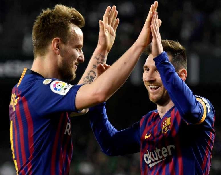O que resta ao Barcelona depois da conquista da Liga. EFE