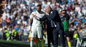 El nuevo Real Madrid de Zidane. EFE/Archivo