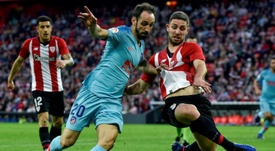 El Atlético, sin regularidad fuera de casa. EFE