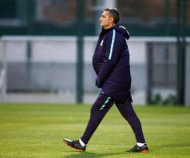 Valverde fará poucas alterações. EFE/Archivo