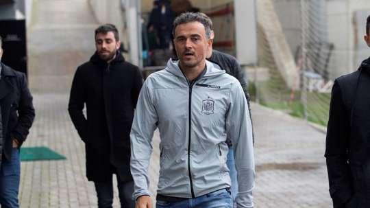 Luis Enrique could return. EFE