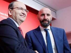 Monchi parlò con Del Nido prima di tornare al Siviglia. EFE