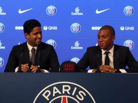 PSG have spent more than 1.2 billion euros in eight years. EFE/Archivo