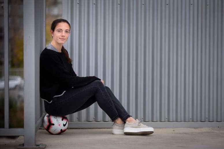 El Barcelona Femenino anuncia la renovación de Aitana BonmatÍ. EFE
