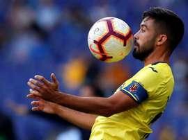 Jaume Costa se lesionó ante el Rayo Vallecano. EFE/Archivo