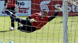 Keylor Navas, en la lista preliminar de Costa Rica para la Copa Oro. EFE