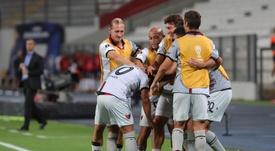 Colón venció por 0-3 a Deportivo Municipal. EFE/Archivo