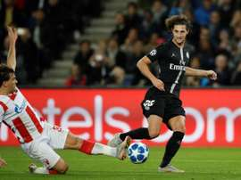 Rabiot may end up staying at PSG after all. EFE